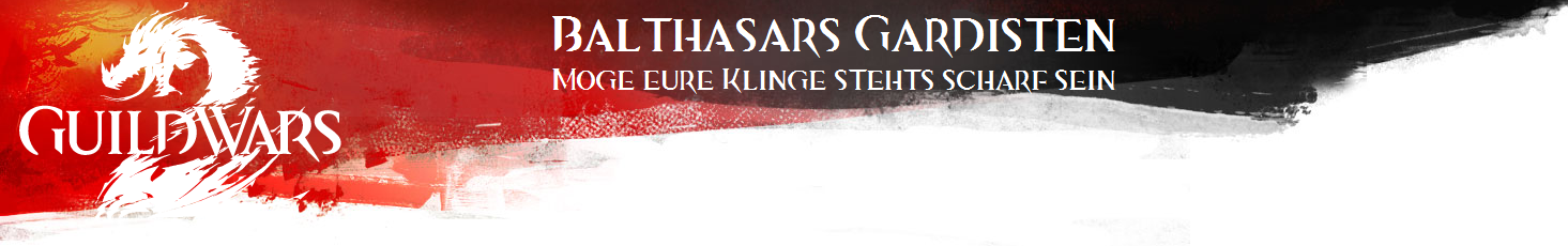 Header Balthasars Gardisten mit Text